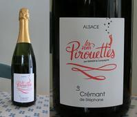 Cremant de Stephane les vins Pirouettes ALSACE 2014 - 北軽1130