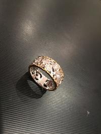 ダイヤの一文字のリングのリフォーム - キラキラ✨おばさんのシルバー日記
