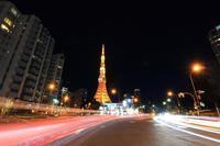 東京タワー西暦表示 - 飛行機&鉄道写真館