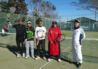 2018年 テニス初打ち - 東金、折々の風景