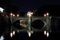 皇居二重橋のライトアップ - 飛行機&鉄道写真館