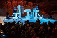Terje Isungset - ロシアでアイス・コンサート - タダならぬ音楽三昧