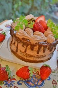 ネイキッドチョコレートケーキ - 調布の小さな手作りお菓子教室 アトリエタルトタタン