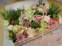 新春花飾り『花御重』3 - Flower ID. DESIGN