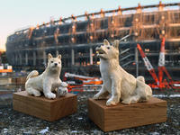 イヌ年の狛犬@新・国立競技場 - nonacafe庵『奥の院』通常観覧