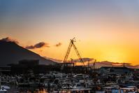 ☆ 船溜まりの朝 ☆ - Trimming