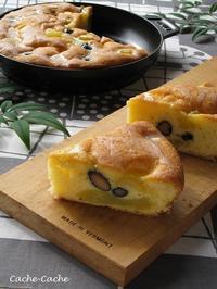 おせちリメイク♪ 栗きんとんと黒豆のケーキ・・・掲載していただきました。 - Cache-Cache+