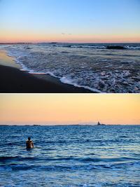 2018/01/06(SAT) 穏やかな夕方の海辺は........。 - SURF RESEARCH