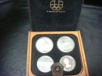 アンティークモントリオールオリンピック銀貨 - アンティーク(骨董) テンナイン