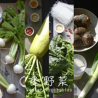 冬野菜でお腹の中から温まろう。体が喜ぶ【かぶ、ごぼう、大根、里芋,ちぢみほうれん草】をつかったスープのレシピ - Camphortreeの日常