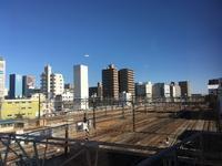 平塚駅で見つけたトレインビュースポット - 子どもと暮らしと鉄道と