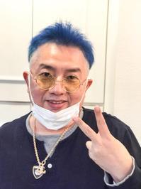 イエローからブルーへ48色の旅 - ~美容師Manabeeのハッピーパーマネントブログ~