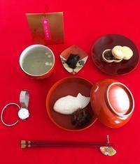 お汁粉と最中でお茶の時間 - マレエモンテの日々