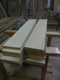引違い戸の腰板 - 手作り家具工房の記録