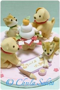 新年のご挨拶とアイシングクッキークラスのお知らせ - シュガークラフトアーティスト Mihoの気ままなブログ
