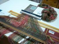 次の作品の準備 - アトリエひなぎく 手織り日記