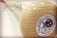 今年の始まり - B.C Works BLOG 【木製バットのB.Cワークス】
