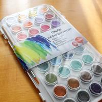 【AD】懐かしいかも!36色固形水彩絵具 - 日曜アーティストの工房