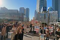 わたしたち、明日を生きてもいいですか?辺野古実防衛省抗議 - ムキンポの亀尻ブログ