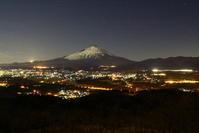 30年1月の富士(3)足柄街道の富士 - 富士への散歩道 ~撮影記~