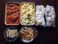 週末の常備菜づくり(180108) - ふたりで暮らす