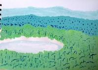 カンボジアの美しい風景 - たなかきょおこ-旅する絵描きの絵日記/Kyoko Tanaka Illustrated Diary