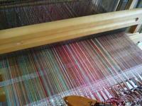 縞々、織りはじめ - アトリエひなぎく 手織り日記