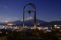 30年1月の富士(4)誓いの丘の富士 - 富士への散歩道 ~撮影記~