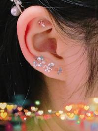 成人式の耳つぼ✨ - きらびと