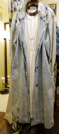 Denim Coat - carboots