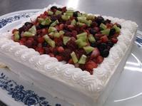 1月のお誕生ケーキ - 大津ケアセンター ブログ