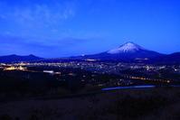 30年1月の富士(5)誓いの丘の夜明けの富士 - 富士への散歩道 ~撮影記~