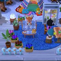 お花屋さんのカフェ風 - うさまっこブログ