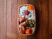 1/11(木)鶏のポン酢照り焼き弁当 - おひとりさまの食卓plus
