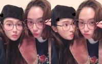 """ジェシカ&f(x) クリスタル、アプリでメガネをかけたキュートな映像公開""""美人姉妹のお茶目な姿"""" - Niconico Paradise!"""