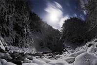 月照の秋保大滝 - 遥かなる月光の旅