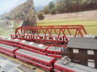 単線トラス橋梁設置 - 新湘南電鐵 横濱工廠3