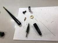 プラチナ万年筆デスクペンのフルレストア - 無題