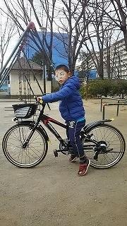 待ちにまった自転車! - ~ワンパク男子子育て中~