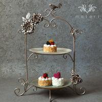 ロマンチックな気分でアフタヌーンティを楽しめるおしゃれな食器 - materi style