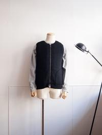 comm. arch. / Zipped Downy Vest - Humming room