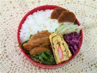 お弁当 1月12日 (豚肉の生姜焼き) - 笑門来福な日々。