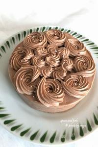 チョコレートケーキ2 - spoon and fork