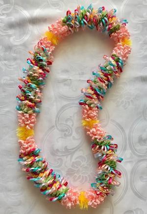【ハロー イースター レイ(Hello Easter Lei)】 - ハワイでリボンレイ&製作スクール  Ribbon lei Happy na Mainichi!