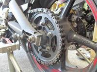 オージー兄ぃ号 ストリートトリプル675の520チェーンコンバート&フェンダーレス(笑) - バイクパーツ買取・販売&バイクバッテリーのフロントロウ!