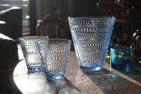 iittala Kastehelmi -tumbler 30cl & vase 154mm aqua - buckの気ままなblog。