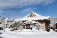 山中温泉は中雪でした - 酎ハイとわたし