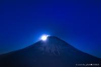 Mt.Fuji with Super moon - walk with my Camera
