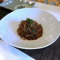 우엉 잡채(ごぼうの雑菜)무 전(大根のチヂミ) - キューニーの食卓