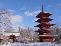 初詣:最勝院五重塔と岩木山神社(弘前市) - 津軽ジェンヌのcafe日記